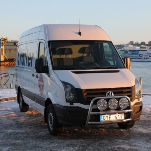 Frontbåge VW Crafter  1
