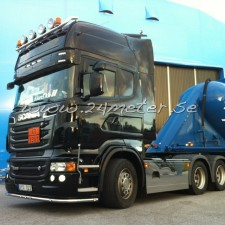 Solskydd Scania