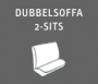 Dubbelsoffa 2-sits