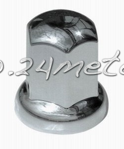 Mutterkåpa Kromad plast 33x55mm 20 st