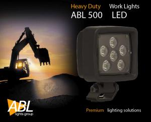 ABL 500 LED 3000 Arbetsbelysning