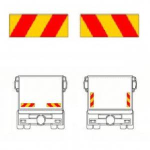 Reflexskylt-sats Bil (2-skylt) Klistermärke  1