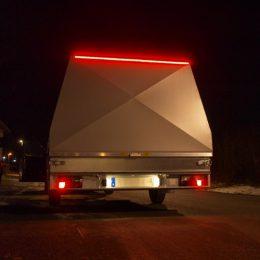 LED-list 3528 röd