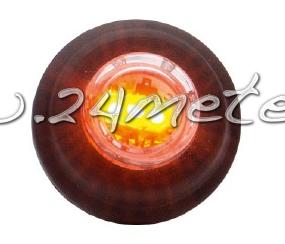 Led-markering för hålmont. 12-24V Orange