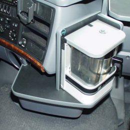 Motorhuvsbord Svart SCANIA 04-SEPT.09