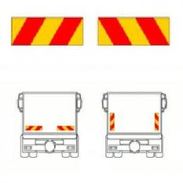 Reflexskylt-sats Bil (2-skylt)