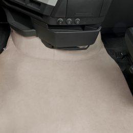 Motorhuvstäcke beige
