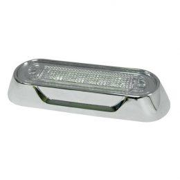 Ring för LED-lampor Krom