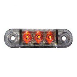LED-markeringsljus E-märkt Rött