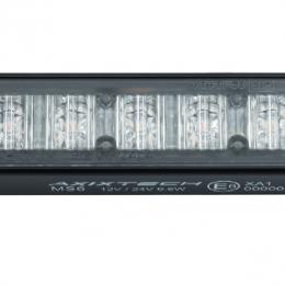 Blixtljus 6 LED Vit 2
