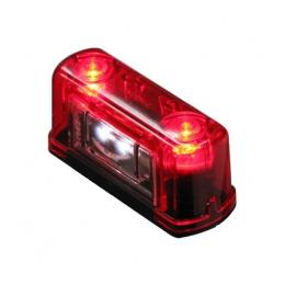 Nummerskyltsbelysning LED 10-30V Liten