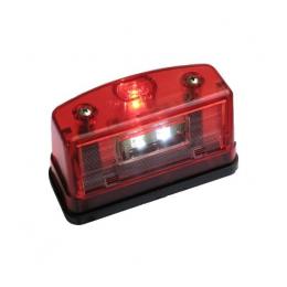 Nummerskyltsbelysning LED 10-30V Stor