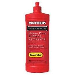 Mothers Heavy Duty Rubbing Compound 1L