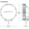 Lightforce 230 HTX Hybrid LED Xenon 12V