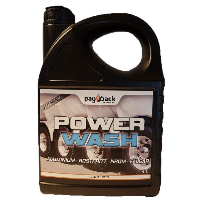 Power wash aluminiumrengöring