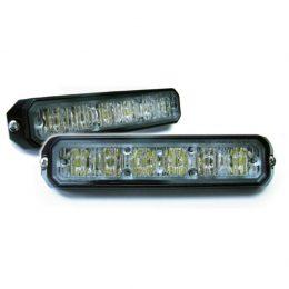 Blixtljus 6 LED ECE R65 och EMC