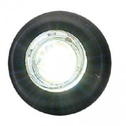 Led-markering för hålmont. 12-24V Vit