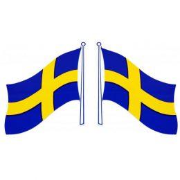 Sverigeflagga 220x140mm