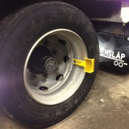 Hjulreflex för plåtfälg