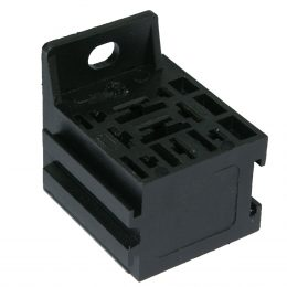 Reläsockel mini 6,3mm + 2,8mm