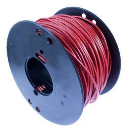 RKUB, 4.0mm², RÖD, BOBIN B4, 60V, PVC, 70°C 25m