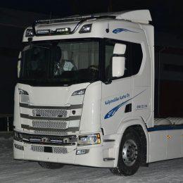 Frontbåge Masken för Scania