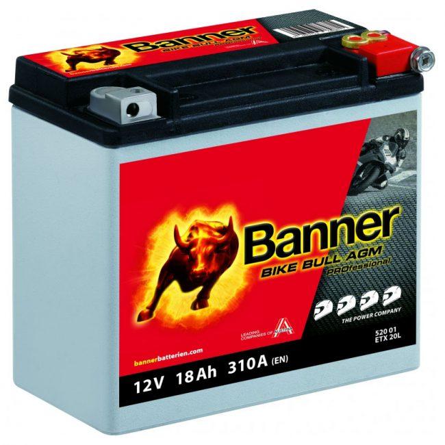 Banner Bike Bull AGM PRO ETX 20L