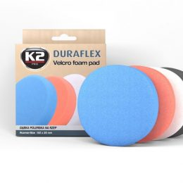 K2 Duraflex medium pad 150mm orange