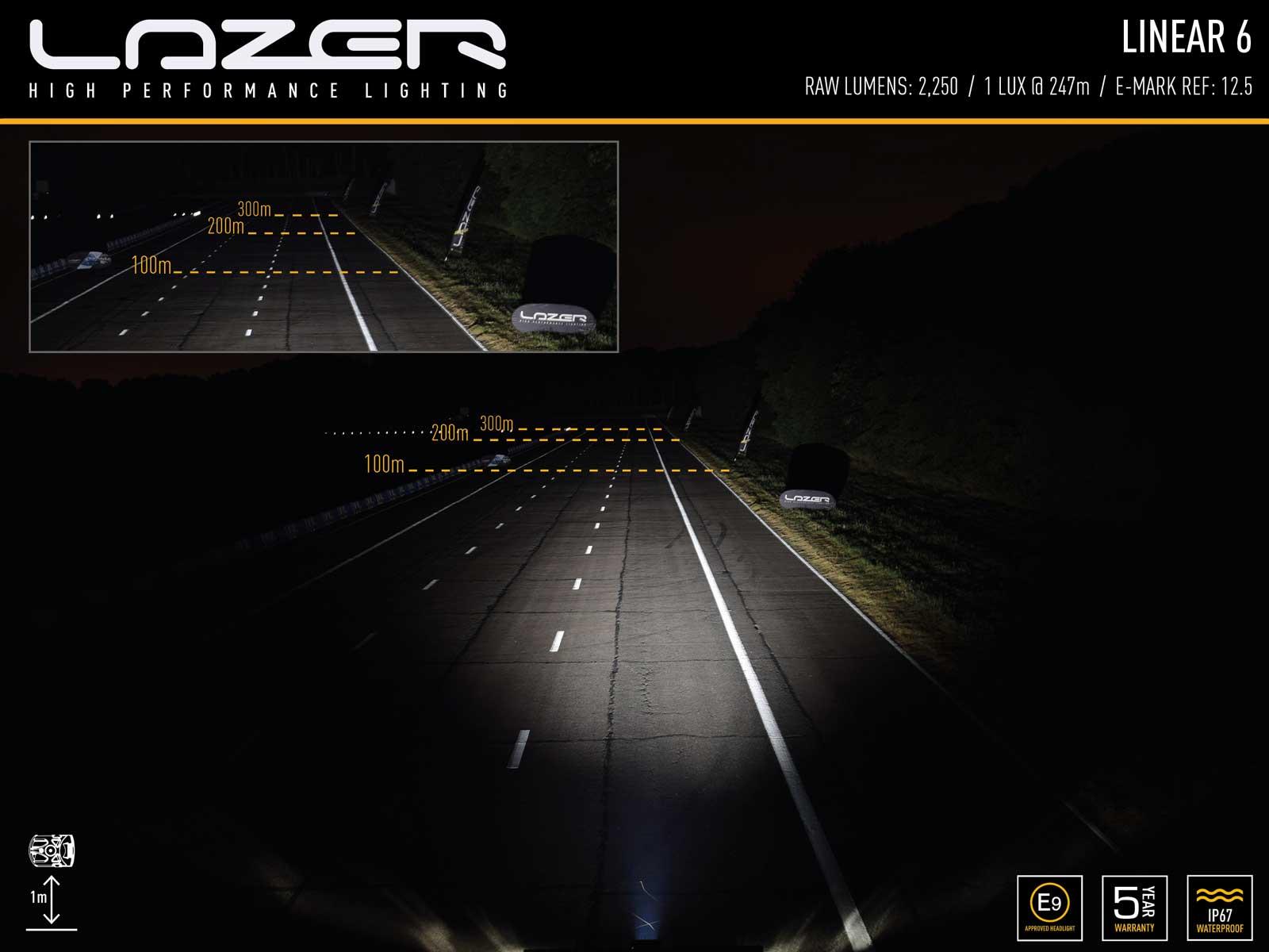 Lazer Linear 6 Standard