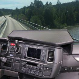 Mittbord Svart passande Scania 2016-
