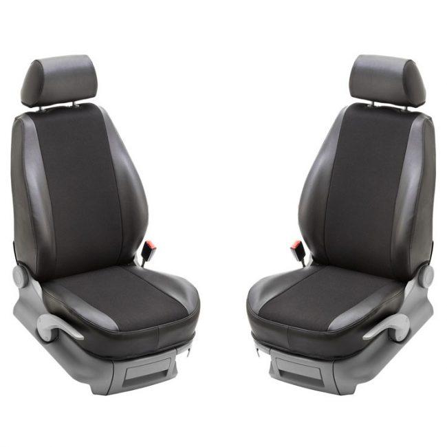 Stark Bilklädsel passande VW Caddy Skåp/Life kombi 17- 1+1-sits
