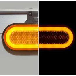 Was W198 markeringsljus med inbyggd blinker