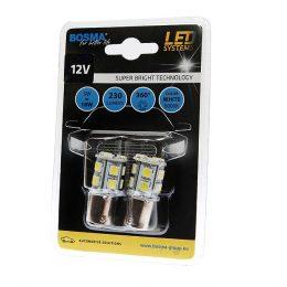 Bosma Ba15s LED 12V Canbus 2-pack Vit