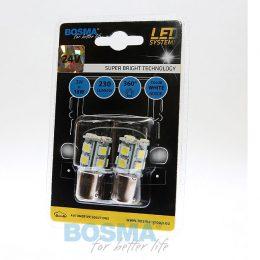 Bosma Ba15s LED 24V Canbus 2-pack Vit