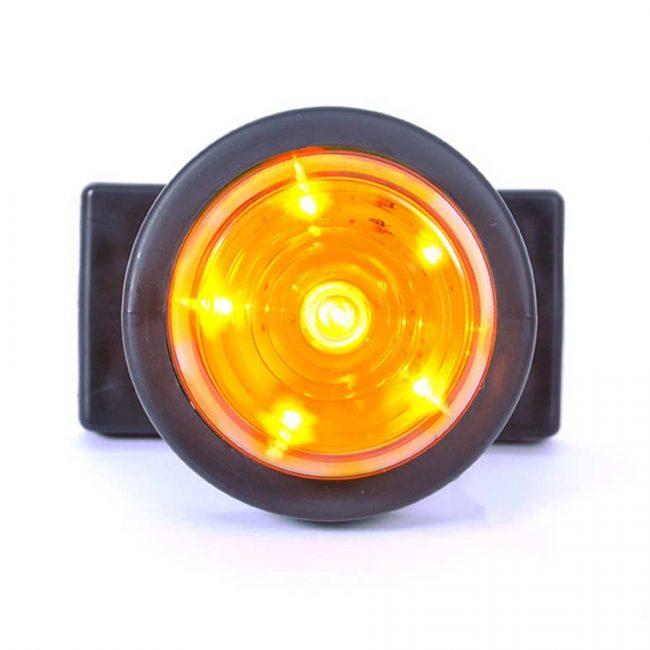 Was W74.3 Gummiarm Y Orange 12-24V