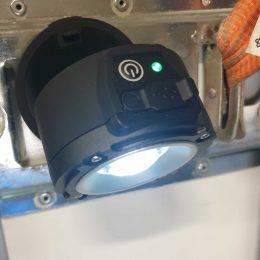Arbetslampa 6W LED Uppladdningsbar m magnet 2