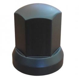 Mutterkåpa svart plast 33mm