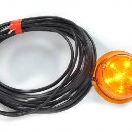 Was W74.3 Orange LED f. gummiarm 493 cm kabel